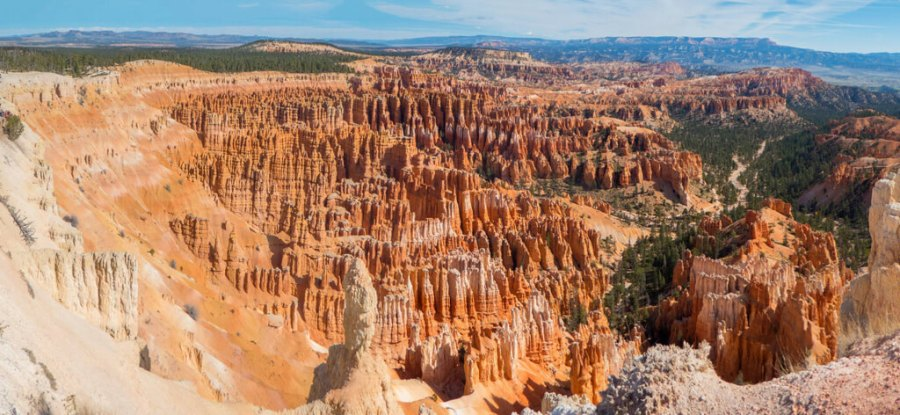 Bryce Canyon Inspiration Point, hoodoos