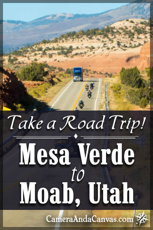 road trip from Mesa Verde to Moab Utah