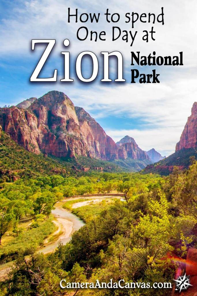 zion national park one day itinerary