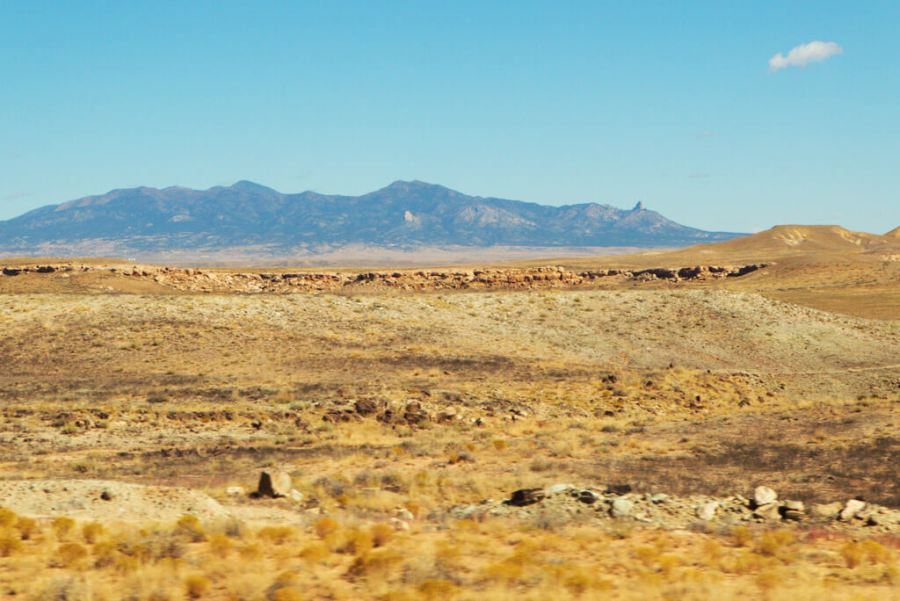 The Sleeping Ute Mountains