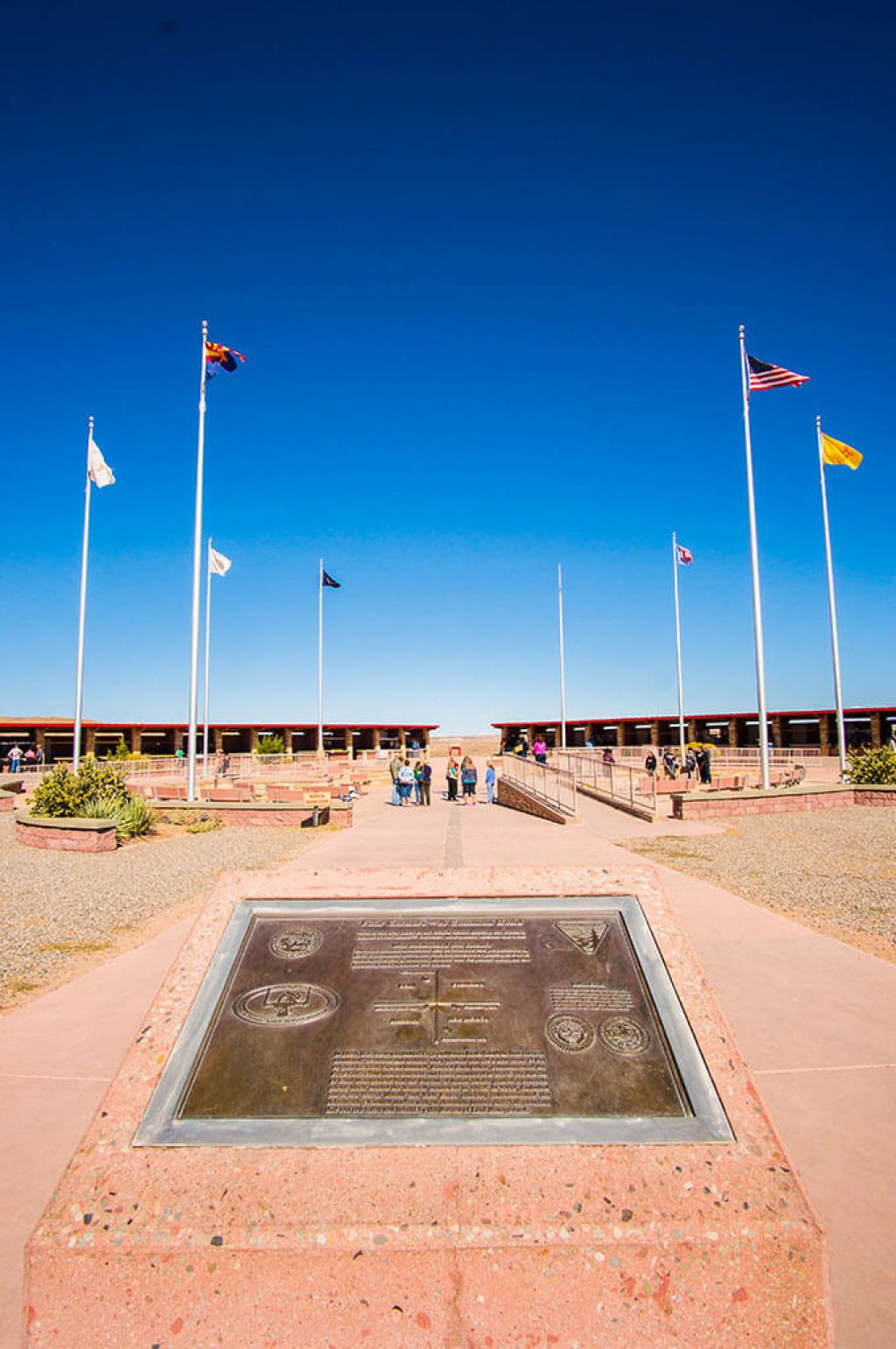 Four Corners Plaque