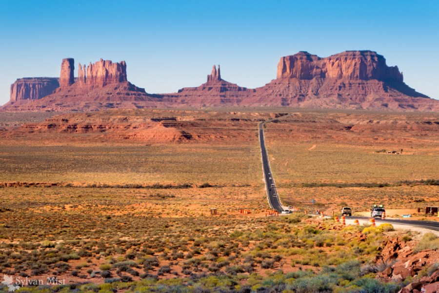 Monument Valley on highway 163