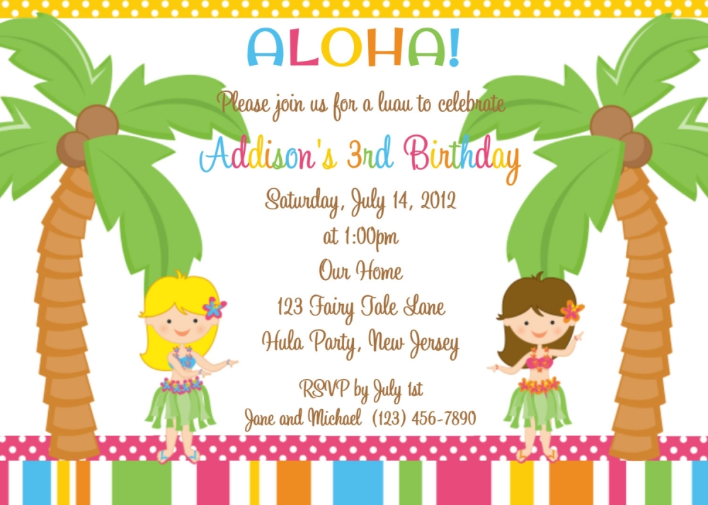 birthday party templates best