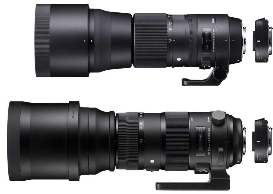 Sigma unveils Global Vision telephoto kits