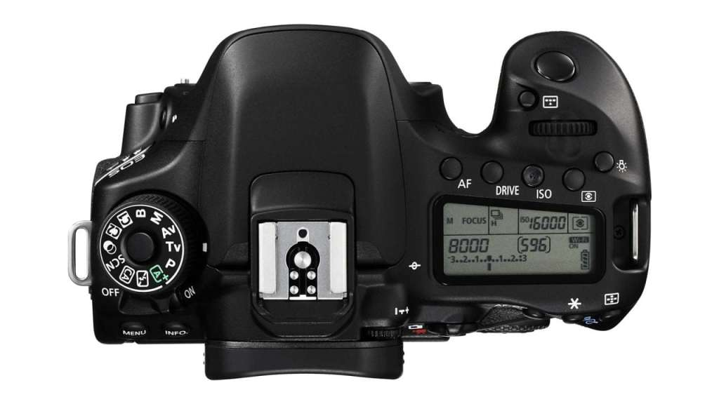 EOS 80D Body TOP