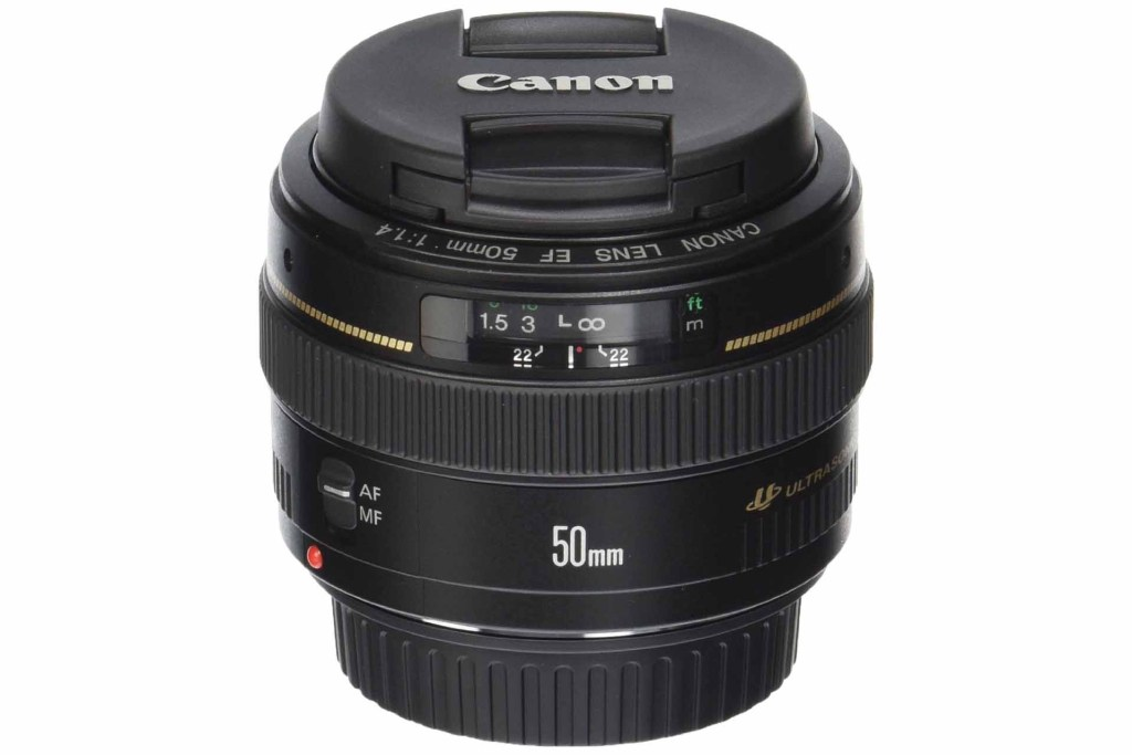 Best Canon EF-S lenses: 06 Canon EF 50mm f/1.4 USM, £235