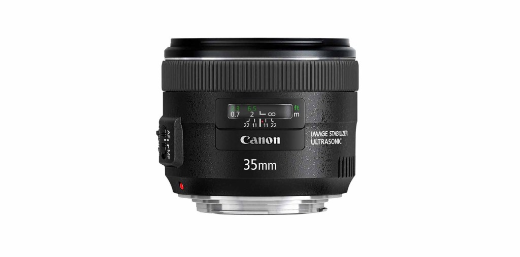 Best Canon EF-S lenses: 05 Canon EF 35mm f/2 IS USM, £380