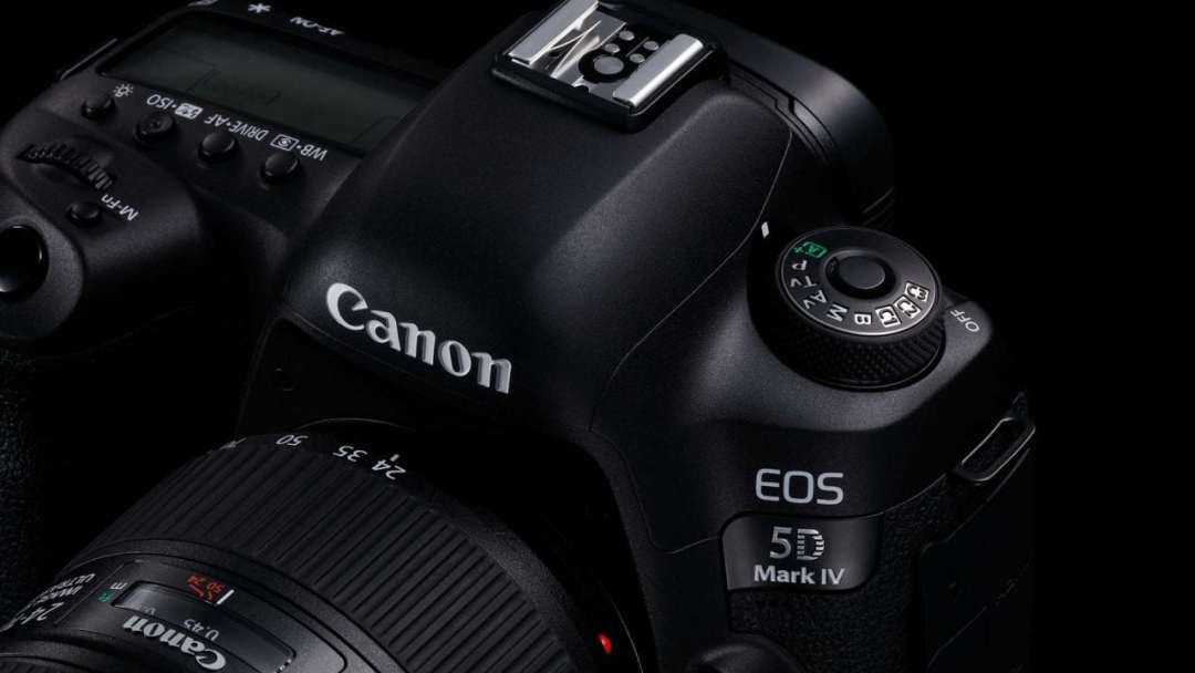 Canon 5D Mark IV top