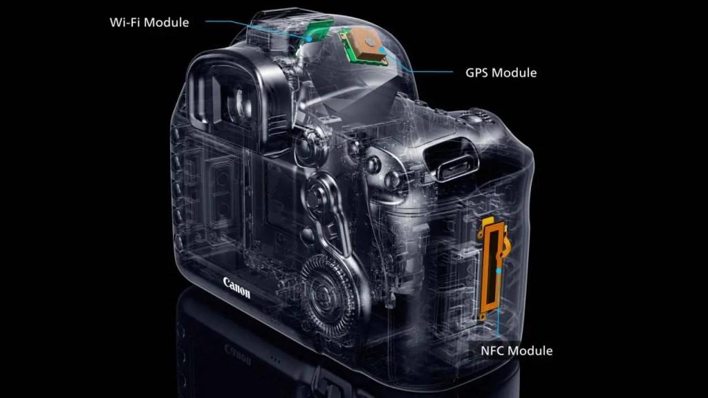 Canon 5D Mark IV connectivity