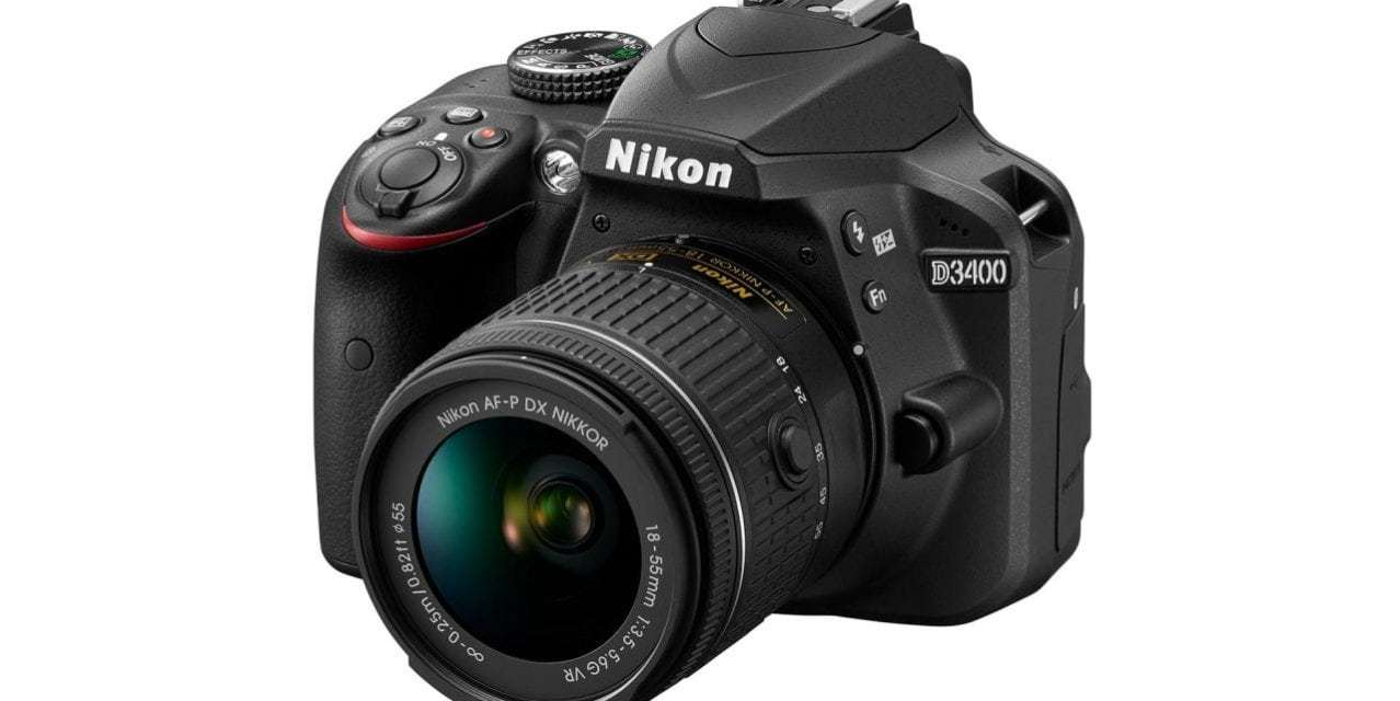 And the winner of our Nikon D3400 competition is…
