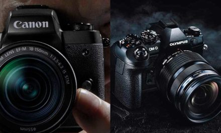 Olympus OM-D E-M1 Mark II Vs the Canon EOS M5