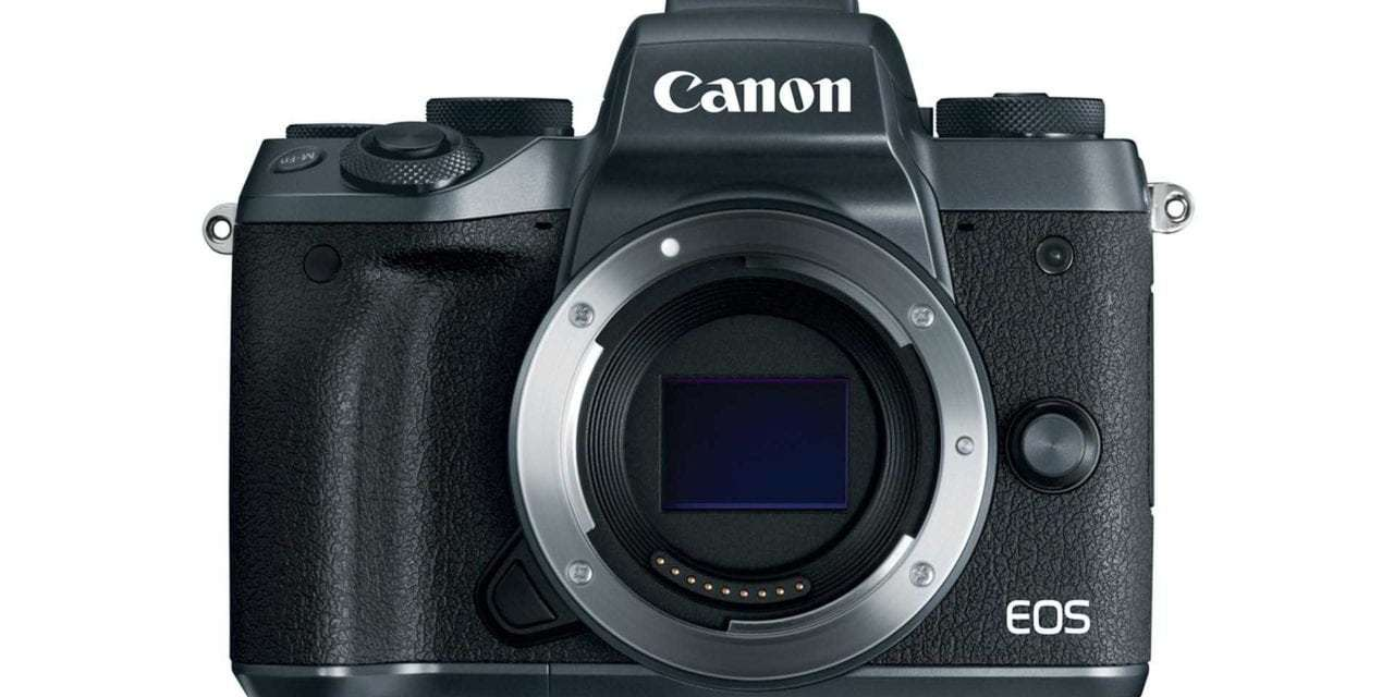 Canon EOS M5: price, specs, release date confirmed