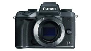 Canon EOS M5 front no lens