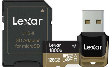 Lexar microSD cards now 'work with GoPro'