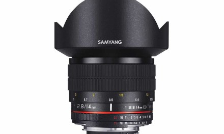 Daily Deal: get this Samyang 14mm f/2.8 at up to 43% off