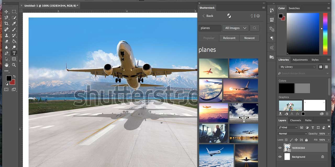 Shutterstock debuts new Photoshop plugin to edit photos before buying