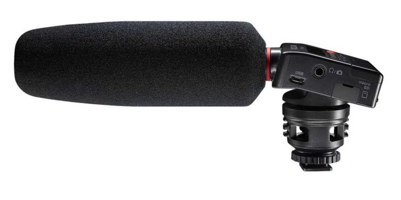 Boost DSLR audio capture with this mic and recorder in one