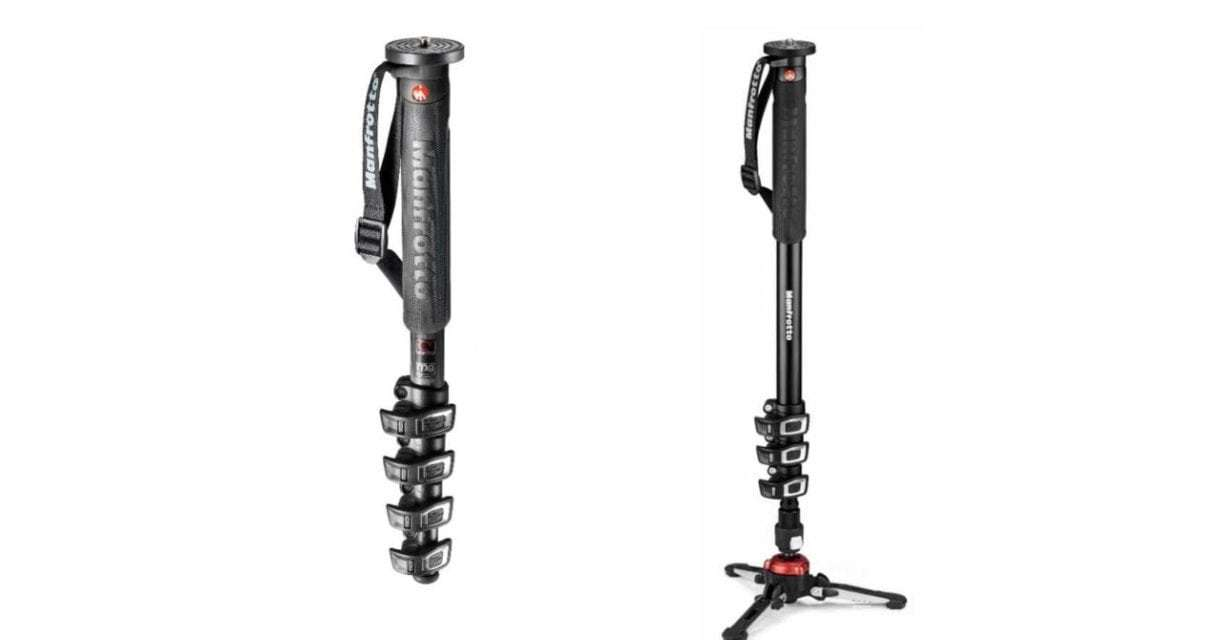 New Manfrotto XPRO Monopod+ offers 3D movement for video