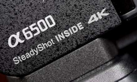 Sony a6500 firmware update boosts movie mode image stabilization