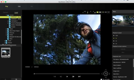 How to edit your Nikon KeyMission 360 video