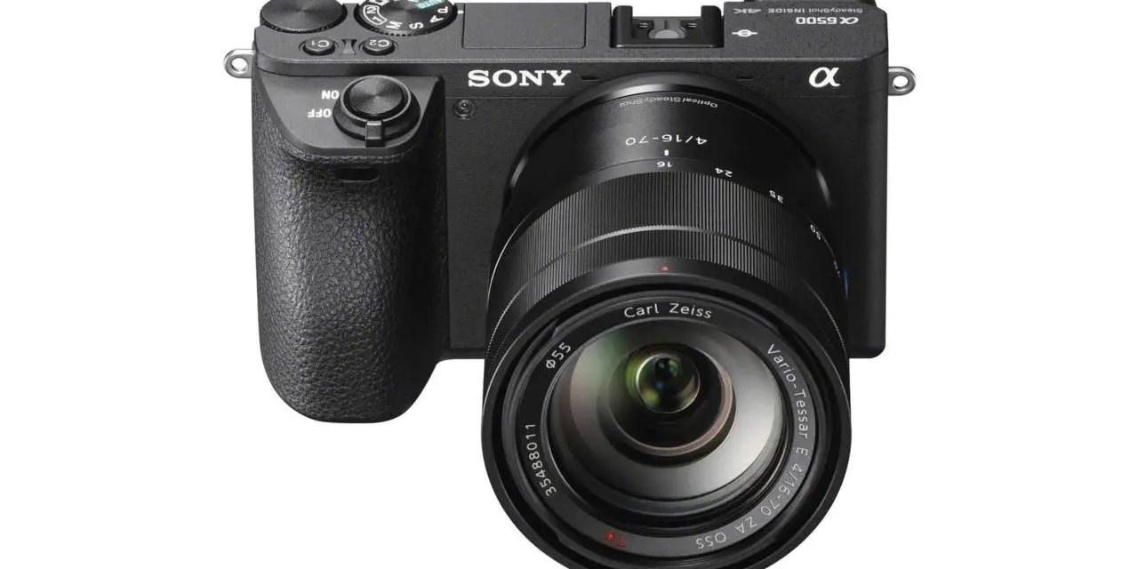 Sony a6500 announced