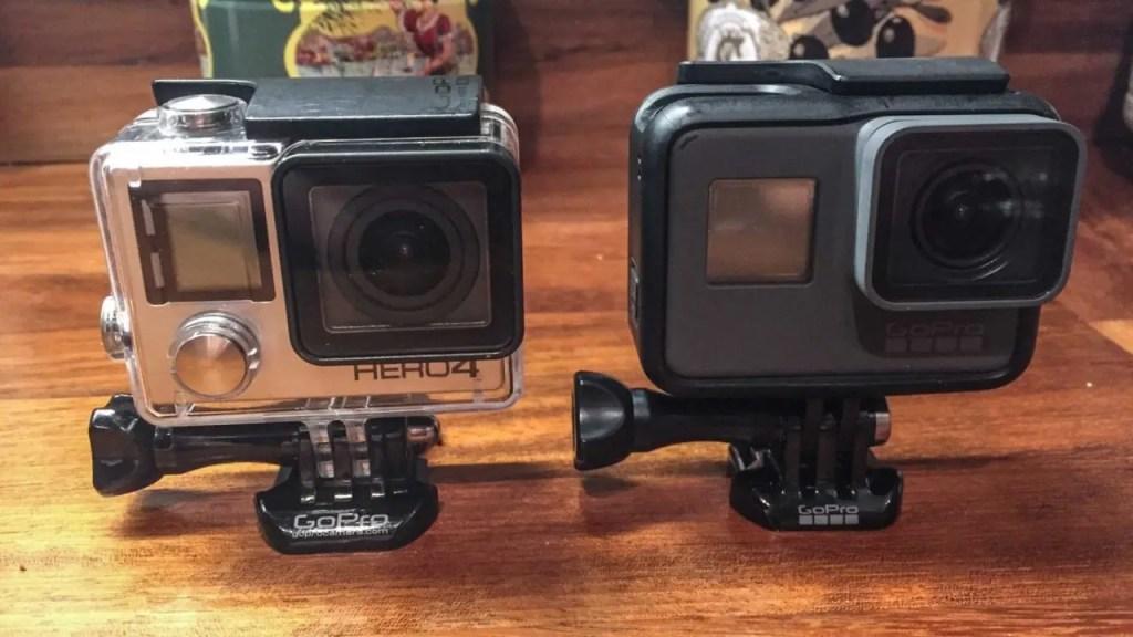GoPro Hero5 vs GoPro Hero4