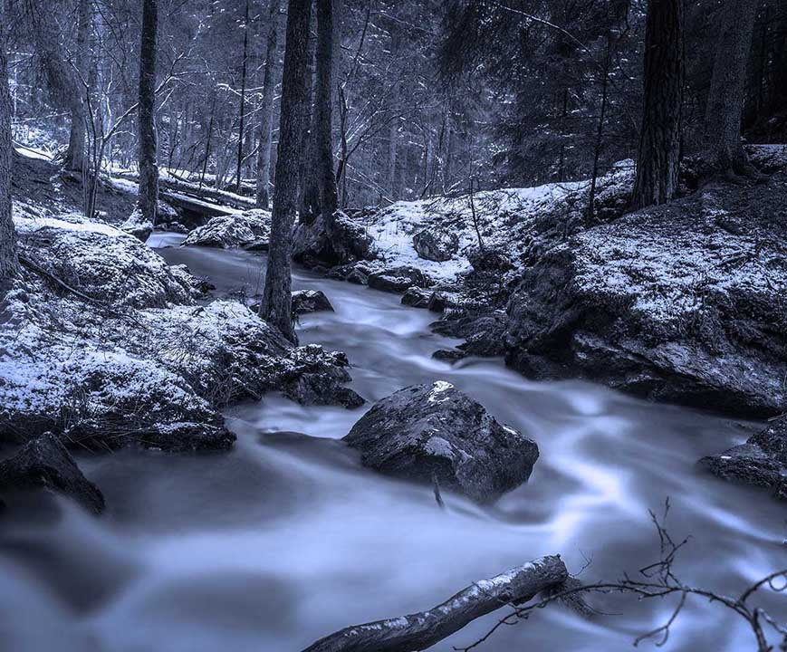 Winter photography: 04 Grab a tripod and capture long exposures