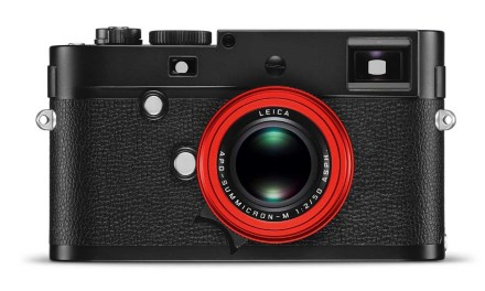 Leica launches limited edition red APO-SUMMICRON-M 50mm f/2 that costs more than your car