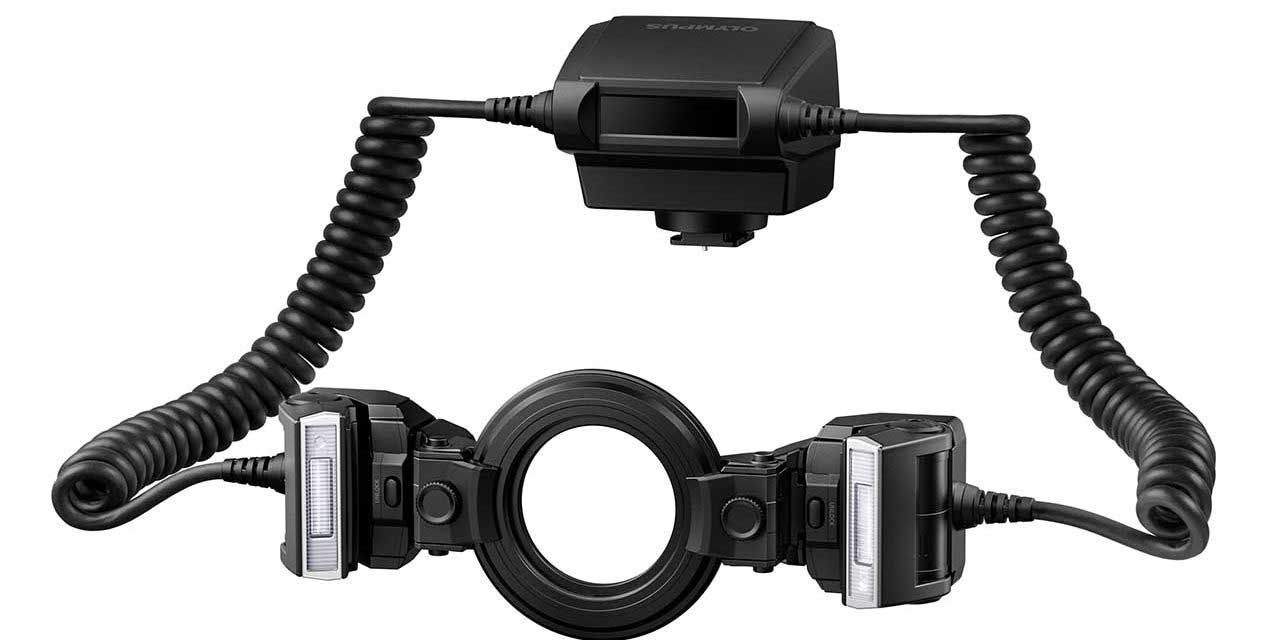Olympus unveils STF-8 Macro flash for OM-D users