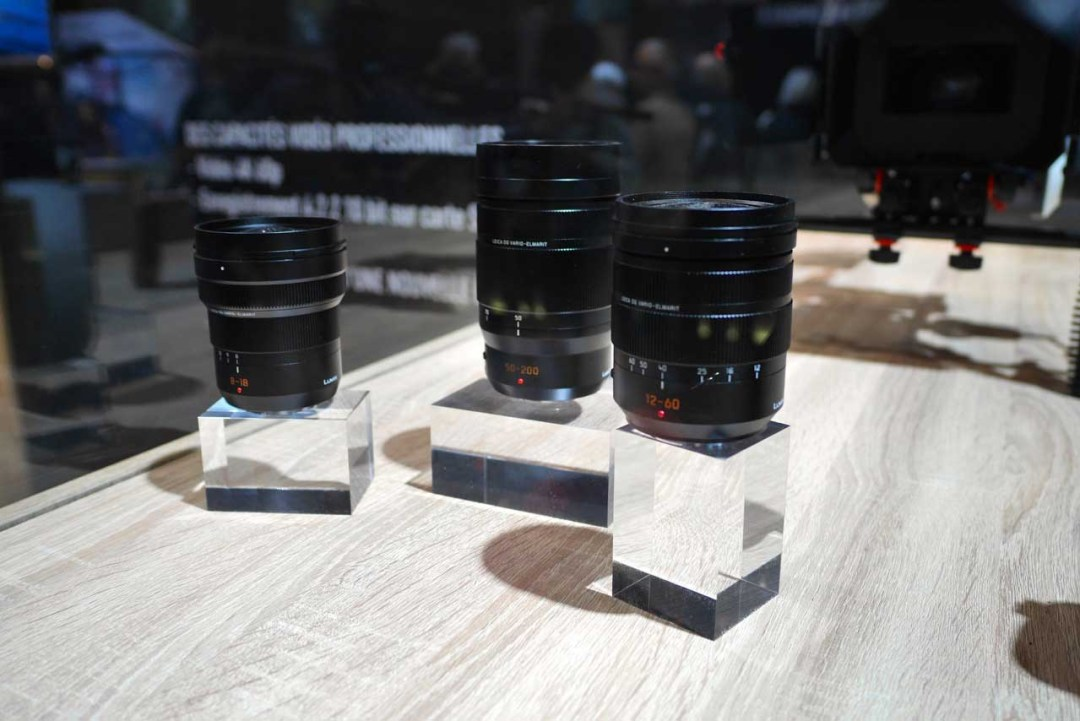 Panasonic GH5: new lenses