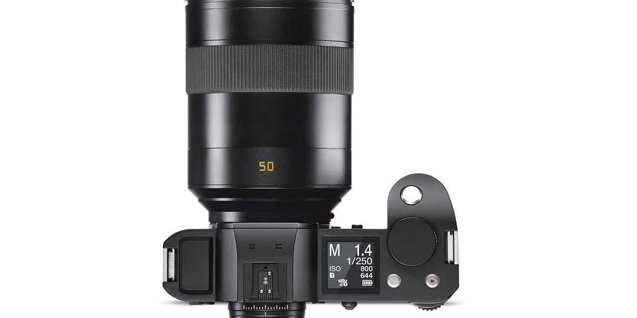 Leica adds SUMMILUX-SL 50mm f/1.4 ASPH to SL system