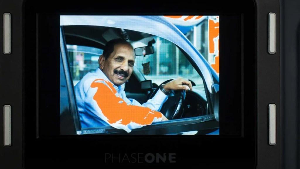 Phase One XF 100 screen