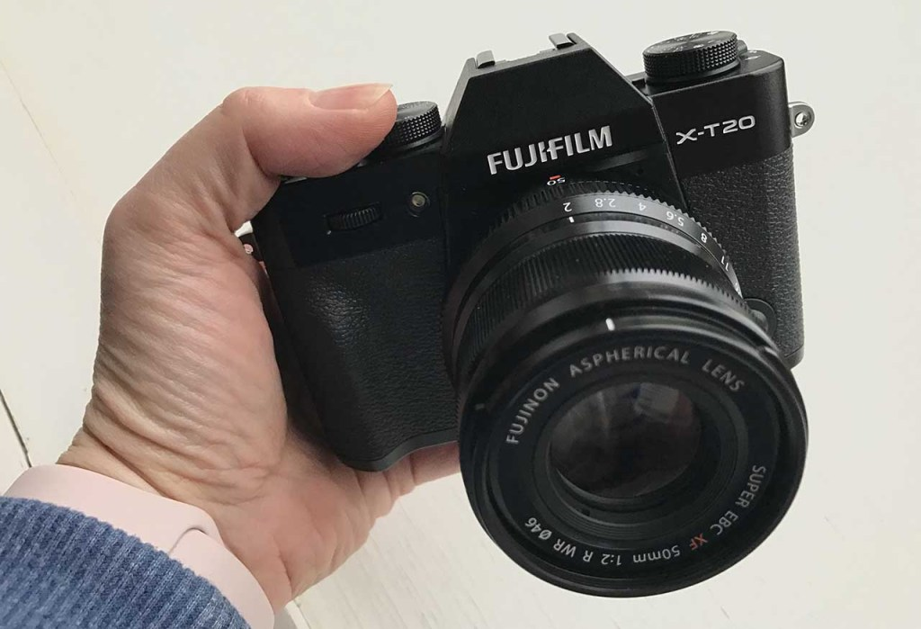 Hands-on Fuji X-T20 review