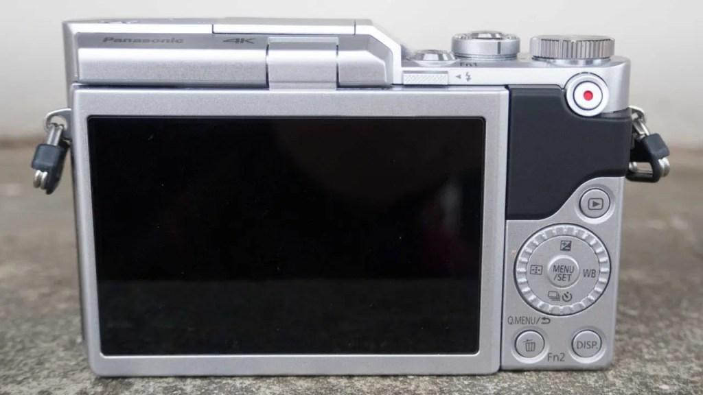 Panasonic GX800 back