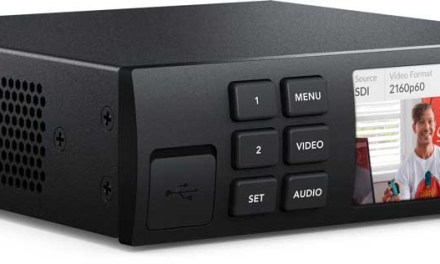 Blackmagic Web Presenter lets you stream live high-quality video from any camera