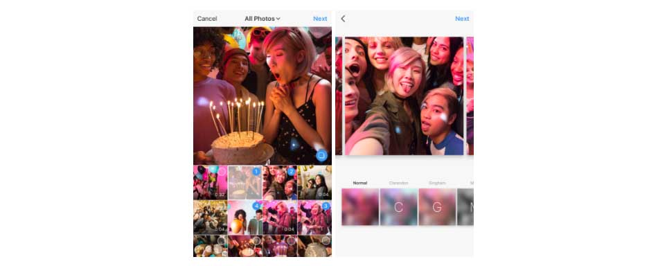 Instagram rolls out multiple photo post feature