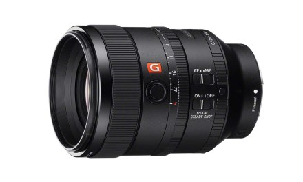 Sony launches 100mm f/2.8 STF G Master lens
