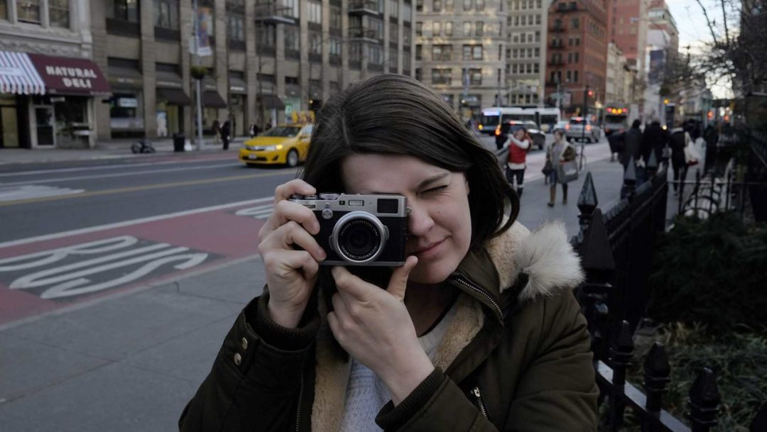 Amy Davies using the Fuji X100F in NYC