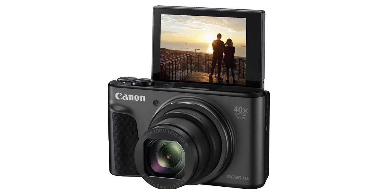 Canon debuts PowerShot SX730 HS travel zoom