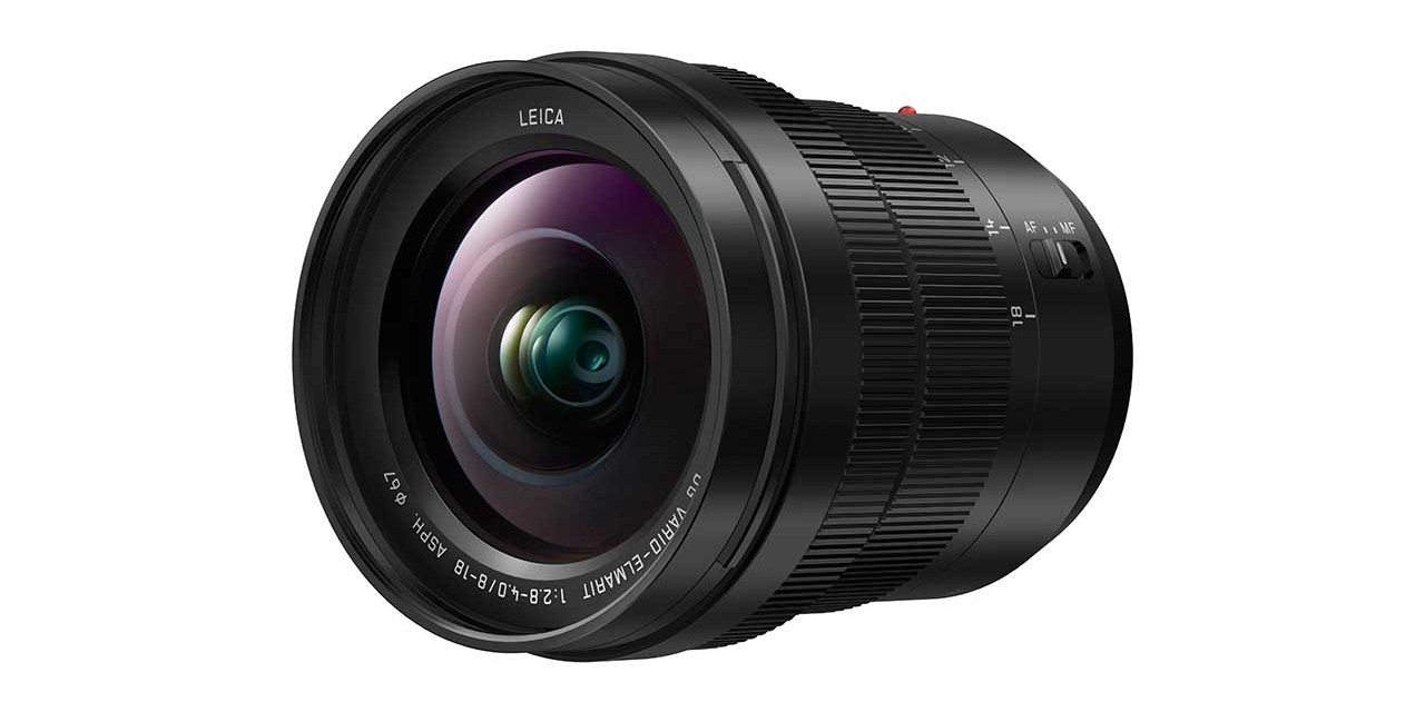 Panasonic debuts Leica 8-18mm f/2.8-4.0 wide-angle zoom