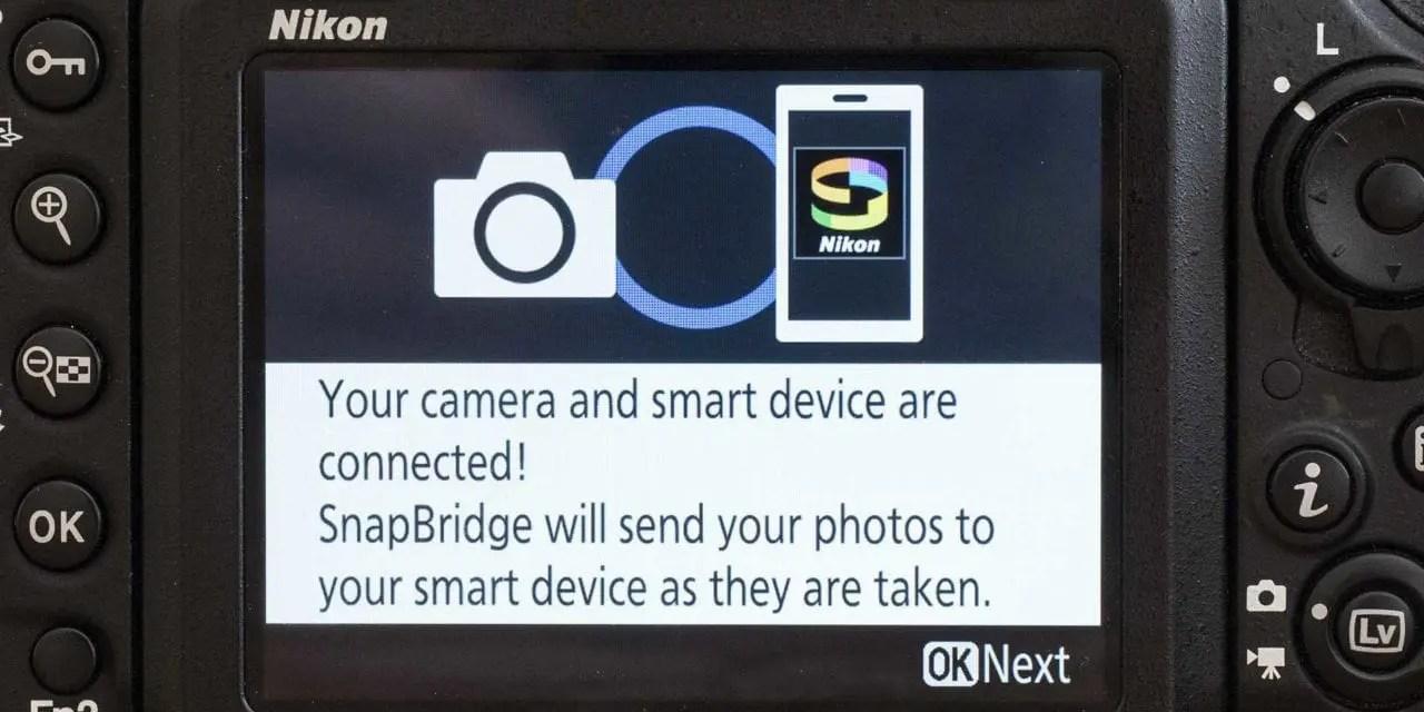 How to connect SnapBridge to your Nikon camera