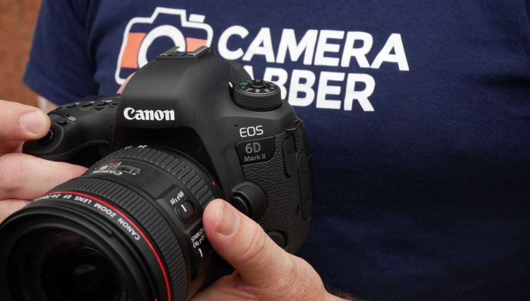 Hands on Canon EOS 6D Mark II review