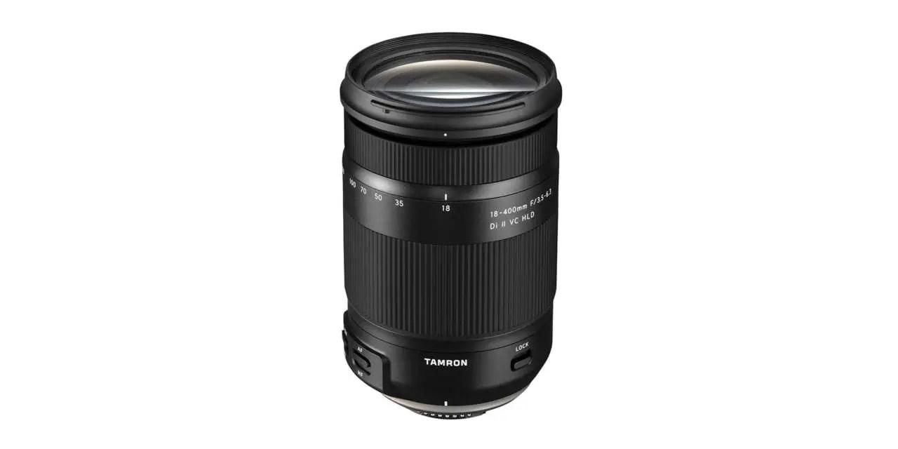 Tamron 18-400mm f/3.5-6.3 Di II VC HLD: price, specs, release date revealed