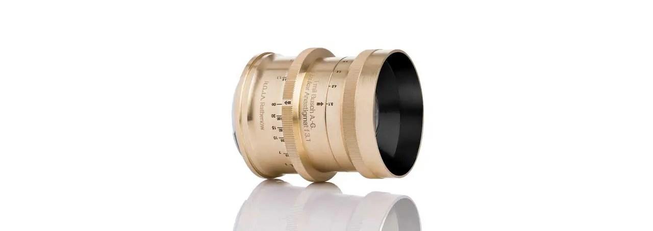 Emil Busch Glaukar 3.1 lens revamp now on Kickstarter