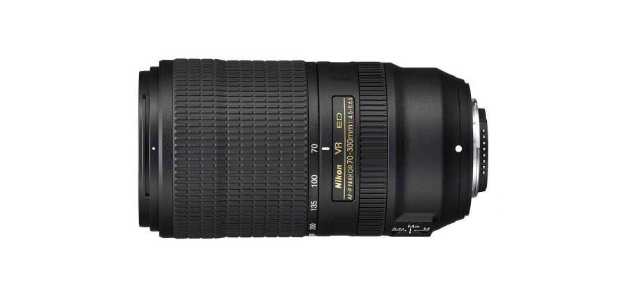 Nikon launches AF-P 70-300mm f/4.5-5.6 ED VR lens with 4.5 stops stabilisation