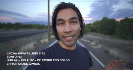 Venus Optics releases Laowa 15mm f/2 teaser footage
