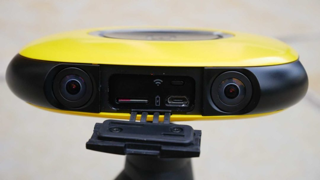 Vuze camera review: design and build quality