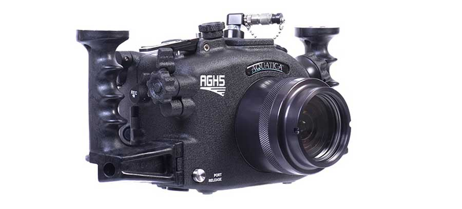 Aquatica launches $1800 underwater housing for the Panasonic GH5