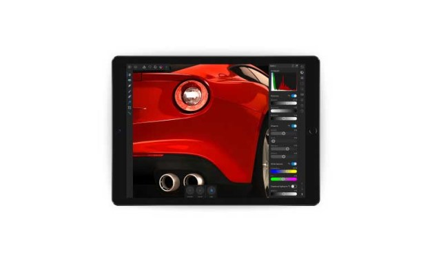 Affinity Photo for iPad price tag drops