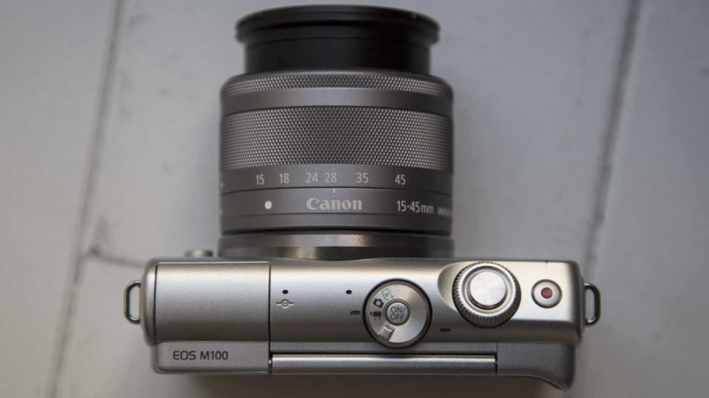 Canon EOS M100 Review Top